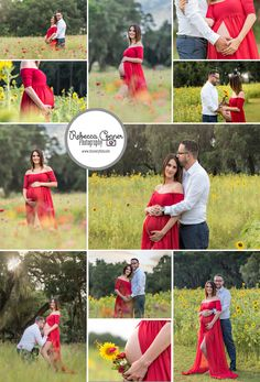 Rebecca Conner Photography, Tampa, FL Maternity Photography, Sew Trendy Accessories gown, Flower field Maternity Photography