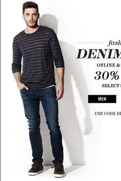 30% Off - Fashion Denim Days is Back!