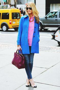 bright coats make still needing a winter coat slightly more tolerable
