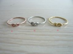 Infinity ringBest Friend Ring Sisters Ring couples by windcompany, $3.99