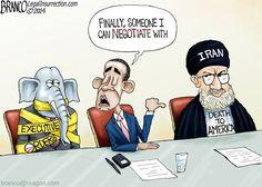 HOSTAGE | Nov/25/14 Cartoon by A.F.Branco - America Held Hostage