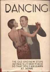 1938 Dancing Instruction Book by Betty Lee