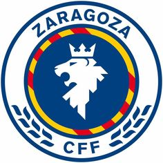 Escudo Zaragoza club fútbol femenino 2017 Football Team Logos, Football Soccer, Soccer World, Sports Logo, Friends Forever, My Friend, Superhero, Badges, Herb
