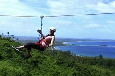 Soar through the jungle canopy and experience a fantastic buzz while on 6 ziplines and 2 suspension bridges. This zipline canopy tour from Port Vila will have you zipping from platform to platform high in the trees while enjoying breathtaking views South Pacific, Pacific Ocean, Vanuatu Port Vila, The Places Youll Go, Places To Go, Australia Tours, Travel Set, Adventure Time, Travel Destinations