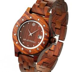AB AETERNO Hazel Women's Watch AB AETERNO. $139.00. Made by 100% natural red sandalwood