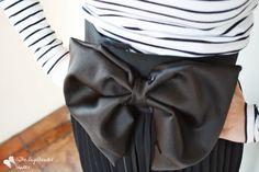 DIY: Bow Belt Tutorial Diy Belts, Bow Belt, Altered Couture, Hipster Outfits, Diy Bow, Fashion Pictures, Designer Dresses, Bows, Dress Designs