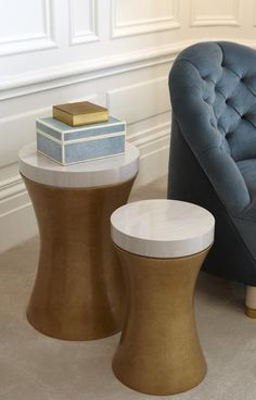 Helen Green Boho Drum Table – Large Inspired by a classic 20′s boho drum, the Boho drum table sits comfortably as a key piece in a stylish living area. The two different sizes work together or separately.