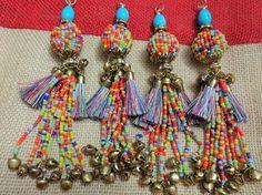 Bell Tassel Silk Tassel Chain Tassel Purse & Handbag
