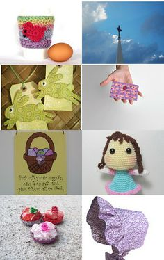 Easter Parade by Coral and Coral on Etsy--Pinned with TreasuryPin.com