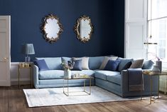 The Aissa corner sofa is spectacularly comfortable, neatly designed, and very adaptable.