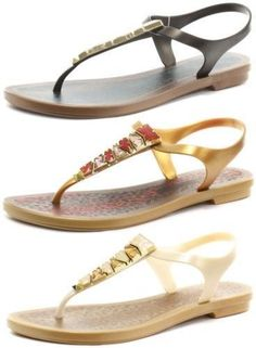 Grendha Brasil Jewel Ii Sandal Womens Thong Sandals All Sizes And Colours