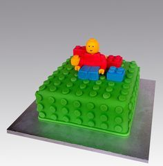 Lego Cake by Gellyscakes, via Flickr