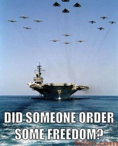 compliments of the greatest naval fleet on the planet...our very own U S NAVY!