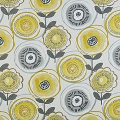 Indah - Indigo fabric, from the Java collection by Prestigious Textiles Curtains Uk, Drapes And Blinds, Yellow Curtains, Blinds Diy, Window Blinds, Curtain Material, Curtain Fabric, Warwick Fabrics, Prestigious Textiles