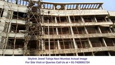 Sales: 7428091724   Skylink Jewel is a residential development by Skyline Builders and Developers. The project is located at Taloja, Navi Mumbai. This project offers spacious and skilfully designed 1 BHK & 2 BHK apartments.   Residents can enjoy the view of natural beauty. The project is spread over 0.12 acres of land and consist of 2 towers with G+4 floors each, which in total comprises of 20 apartments. Navi Mumbai, Site Visit, Towers, All Modern, Acre, Apartments, Floors, Natural Beauty, Jewel