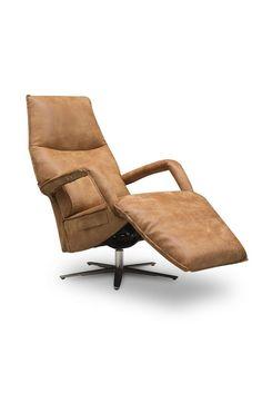 Relaxfauteuil Ipanema van meubelindustrie het Anker in africa leder met accu.
