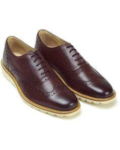 Original Penguin Menswear Westchester Shoes, Bordeaux Brogues