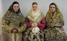 Праздничная одежда -Нижегородская губерния-серед. 19 века-коллекция Русского музея СПБ.