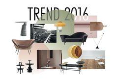 Se årets nye trender! | Bo-bedre.no 2016 Trends, 2nd Floor, Nye, Shelves, Flooring, Interior Design, Chair, Inspiration, Furniture