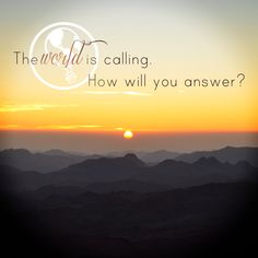 HomeExchange.com #WanderlustWisdom #Travel #Quote  The world is calling. How will you answer?