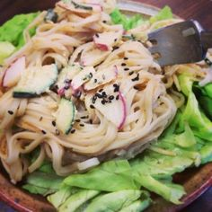 Dragon Noodle Salad by Isa Does It
