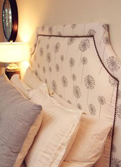 DIY belgrave headboard DIY home furniture@epis_ck  I am thinking I am obsessed with this!