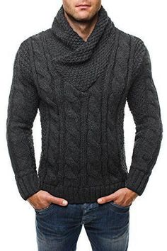 Men's Sweaters – Page 11 – KnitWearMasters Shawl Collar Sweater, Men Sweater, Handgestrickte Pullover, Hand Knitted Sweaters, Winter Wear, Hand Knitting, Knitwear, Mens Fashion, Clothes