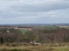 View over Walton-on-the-hill Stafford from Broc Hill #cannockchase