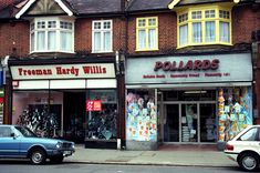 Freeman Hardy Willis and Pollards Shops in Addiscombe Croydon Surrey England Croydon, South London, Winter Beauty, Local History, My Childhood Memories, Built Environment, The Good Old Days, Surrey, Old Photos