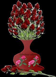 GIFS Animados   Rosas de Color Rojo - 1000 Gifs Flowers Gif, Love Flowers, Types Of Flowers, Beautiful Butterflies, Beautiful Flowers, I Love You Hubby, Good Night Prayer, Gif Photo, Beautiful Gif