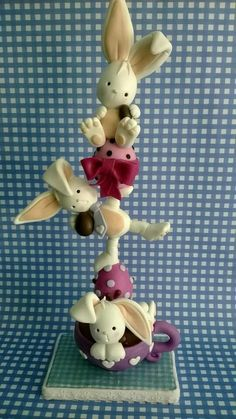1 million+ Stunning Free Images to Use Anywhere Polymer Clay Figures, Polymer Clay Animals, Fimo Clay, Polymer Clay Projects, Clay Crafts, Sugar Animal, Clay Bear, Fondant Animals, Diy Ostern