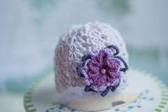 Newborn Lila Hat