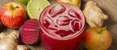 Suco detox de beterraba e maçã - Lucilia Diniz