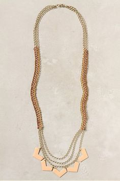 Azimuth Necklace . Anthropologie