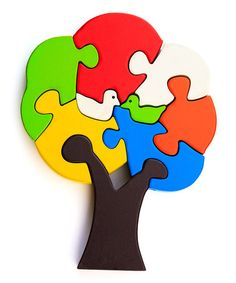 Tree Bird Puzzle by Thoughtfortots
