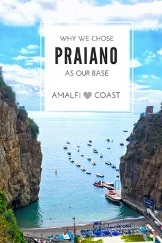 5 Reasons why we chose to stay in Praiano on the Amalfi Coast.