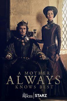 Margaret always knew her son's destiny was to seize the throne. #TheWhitePrincess premieres April 16 on STARZ.