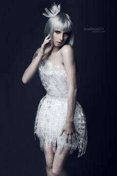 Forks by Luminosity Productions - Fashion photography - Recycled Dresses from Rubbish