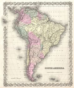 map south america - Google Search