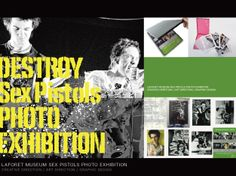 LAFORET MUSEUM SEX PISTOLS PHOTO EXHIBITION