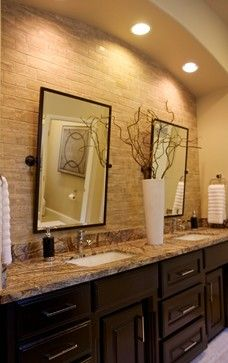 Bathroom Remodel by The ARTEC Group Inc., Fort Worth Tx Love the arch with built in lights above the sinks- master?