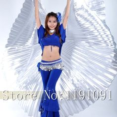 Egypt Costume Isis Belly Dance Wings Dance Wear Wing Hot New indian dance women bellydance 10 colors 1275936400-in Belly Dancing from Apparel & Accessories on Aliexpress.com | Alibaba Group