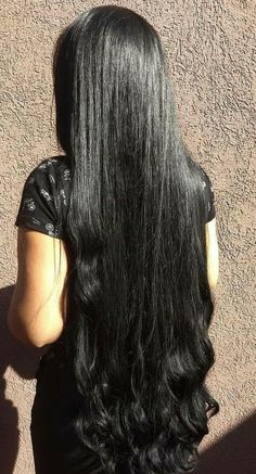 Long Silky Hair, Long Black Hair, Long Layered Hair, Long Hair Cuts, Long Hair Styles, Indian Long Hair Braid, Braids For Long Hair, Really Long Hair, Super Long Hair