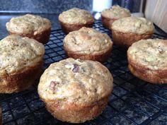 Healthy Whole Grain Banana Muffins Recipe