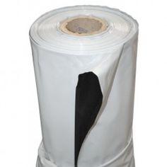 Plastico Reflectante Blanco/Negro (2 M X 100 M) Grueso