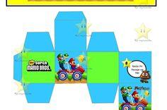 Tarjetas de invitación de Super Mario Bros - Imagui