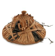 Africa   Straw hat from Beni-Abbes, Algeria   20th century