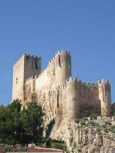 Castillo de Almansa - Albacete - Castilla La Mancha - Spain