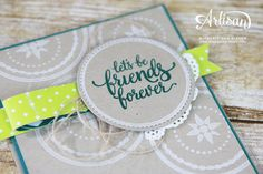 Eastern Palace, Stampin' Up!, Artisan Blog Hop