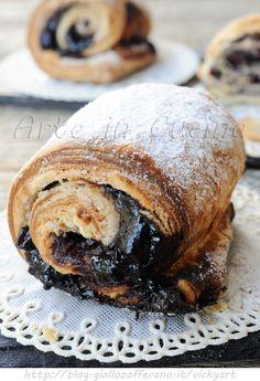 Brioche veloci sfogliate veloci ricetta dolce sfiziosa vickyart arte in cucina